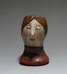 Mourner Head Vase